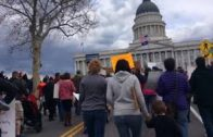 Historic March 24 2018 March for our life's, Salt Lake City Utah, Kevin D. Blanch